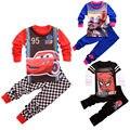 Caliente de Dibujos Animados ropa de Dormir Pijamas del Bebé Infantil Chicos ropa de Dormir de Algodón Pj set REINO UNIDO