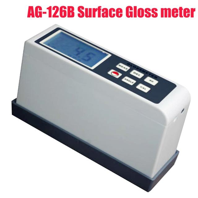 AG-126B Surface Gloss meter ,Digital Glossmeter multi-angle 200/20 degree 60degree non-metallic materials surface gloss test.