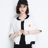 Summer 2017 Harajuku Shirt Women Korean Spring Women Tops Fashion Sweater Blouse Cardigan Retro Beauty Sunscreen