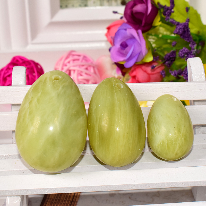 Ronny Zhu Wenwu Yoni Jade Nephrite Egg Women Carving Wa Ben Balls for Kegel Exercise Pelvic Floor Muscles Vaginal Exercise Gifts yoni egg massager crystal roller wand ben wa balls tiger eye pleasure jade egg for women kegel exercise vaginal muscles tighten