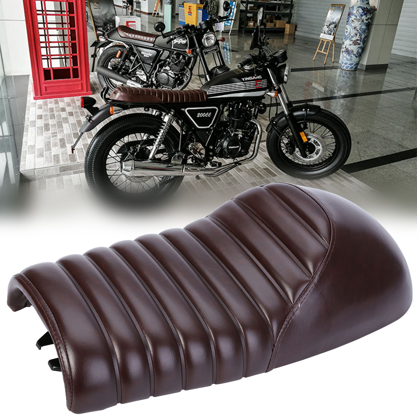 popular cafe motorcycle seat-buy cheap cafe motorcycle seat lots