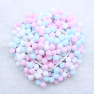 400 Pcs/ Bag Multi Colors 10mm Pompoms Balls for DIY Party Home Garden Wedding Decoration Garment Sewing Kids Toys Accessories(China)