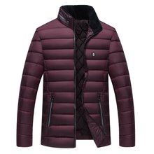 2018 neue Mode Jacken Männer Parka Heißer Verkauf Qualität Herbst Winter Warme Outwear Schlanke Herren Mäntel Casual Windschutz Jacken Männer(China)