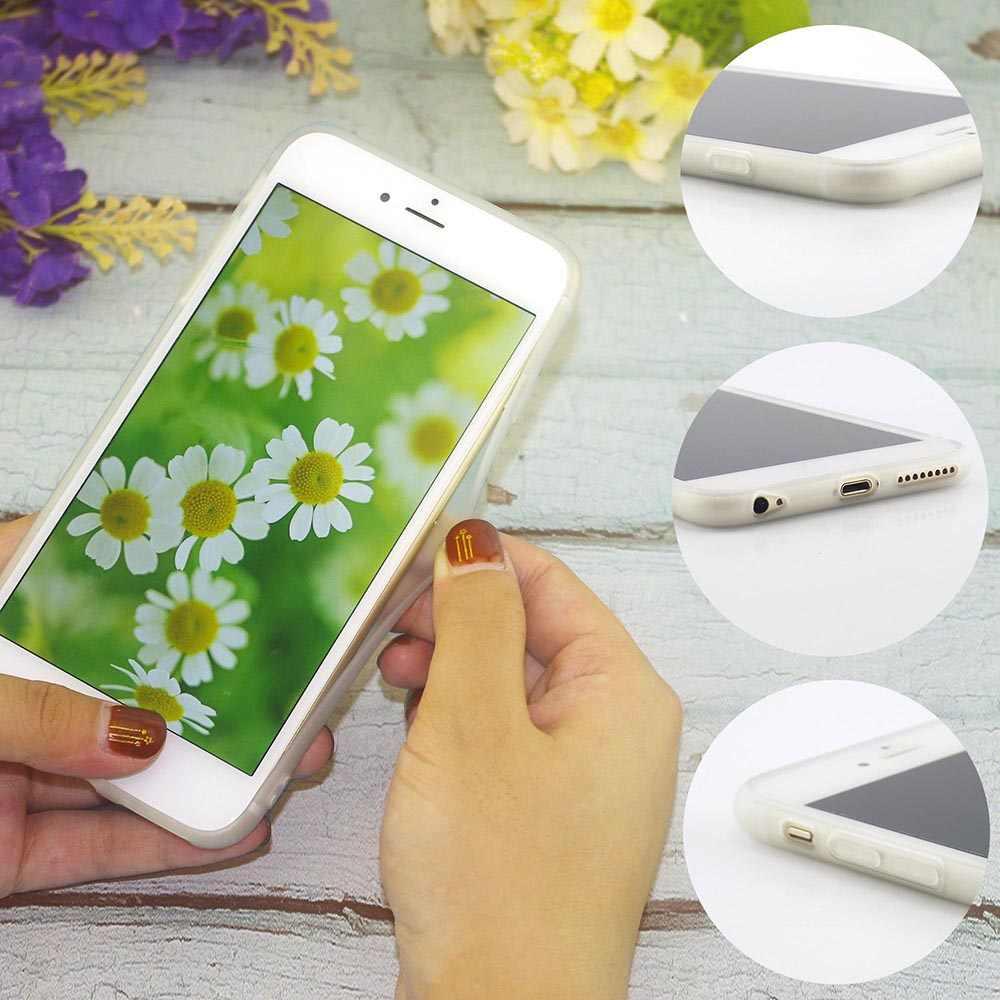 Miękka TPU uroda Afro Puffs etui na telefon dla iPhone SE pokrywa dla iPhone Xs okładki XR Max X 6 6S 8 Plus 7 5S 5 silikon 11 pro