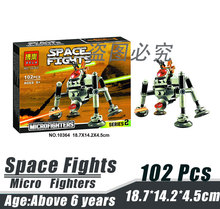 Bela 10364 Star Wars Micro Fighters Blacklist Spider-Bot Robot Minifigures Building Block Minifigure Toys Compatible with Legoe