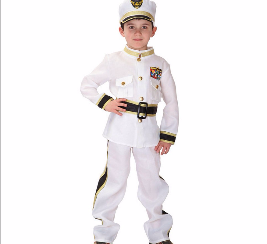 Boys Police Costumes Halloween Party Super Police Performance Dress for Boys Birthday Party Cosplay Game Uniform Sets devil may cry 4 dante cosplay wig halloween party cosplay wigs free shipping