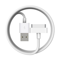 1m 2m 3m Ultra Long High Speed 30-Pin USB Data Sync Charger Cable For iPhone 4/4s iPad 1/2/3 Fast Charging Phone Charger Cable