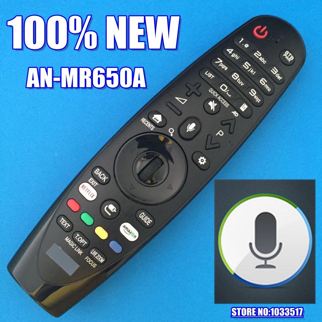 Nouveau Original pour LG AN-MR650A une télécommande magique mr650A avec téléviseurs intelligents vocaux