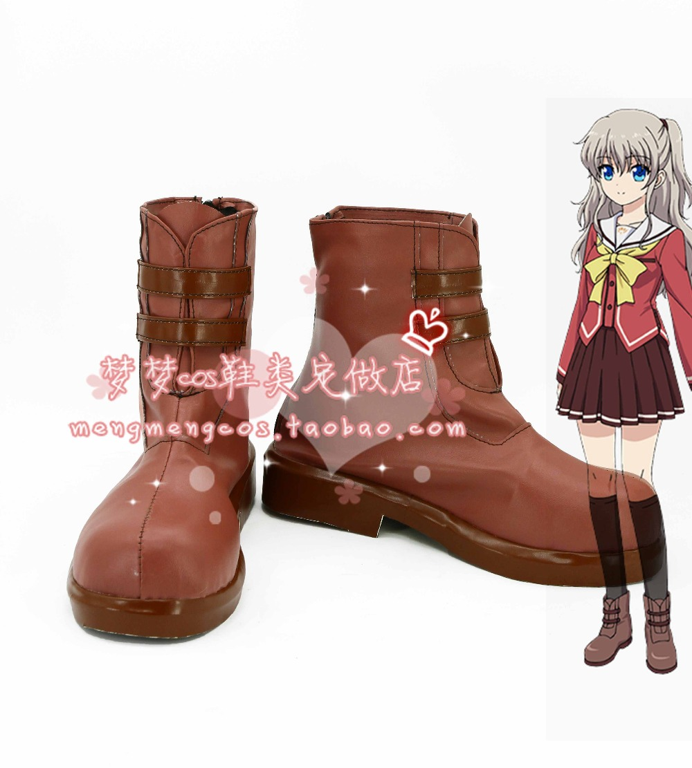 Charlotte Tomori Nao Cosplay Shoes Boots Custom-made 2516 Moderate Price