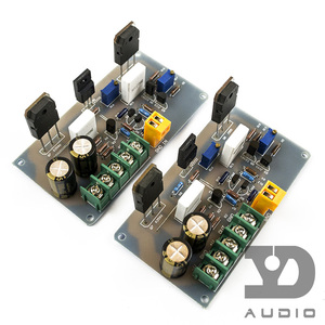 Image 1 - Monte 2 pcs A30 Saf Sınıf Bir Yüksek akım Mini HI FI Amplifikatör Kurulu (2 channle) 30 W + 30 W