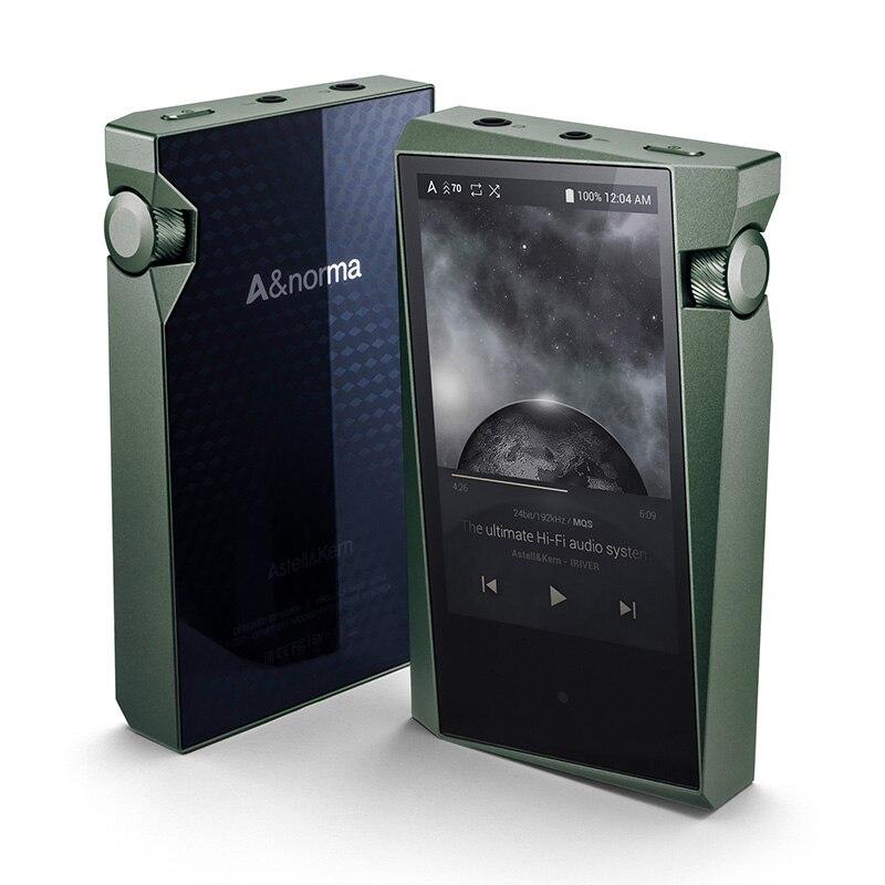 Iriver a & norma sr15 64g/128g portátil de alta resolução jogador áudio lossless música mp3 presente caso couro personalizado