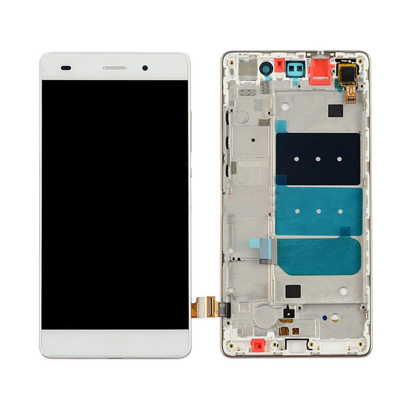 LCD For HUAWEI P8 Lite Display Touch Screen Digitizer Replacement LCD For HUAWEI P8 Lite Display ALE-L21 P8LITE L04 with frame
