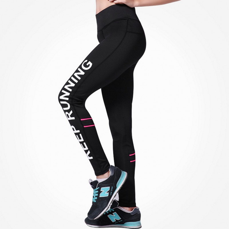 Hosen Hohe Taille Schlanke Fitness Leggings Frauen Black Brief Drucken Workout Leggings Sport Abenteuer Zeit Mode Jeggings 88061 Frauen Kleidung & Zubehör