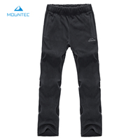 MOUNTEC Autumn And Winter Thick Fleece Pants Sports Polar Fleece Fabric Windproof Thermal Plus Size Men