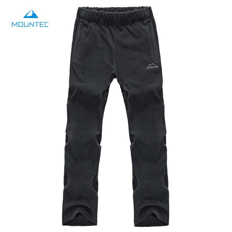 Outdoor Pants Trekking Mountain Hiking Pans Thick Fleece Pants Sports Polar Fleece Fabric Thermal Men Women Travel Trousers