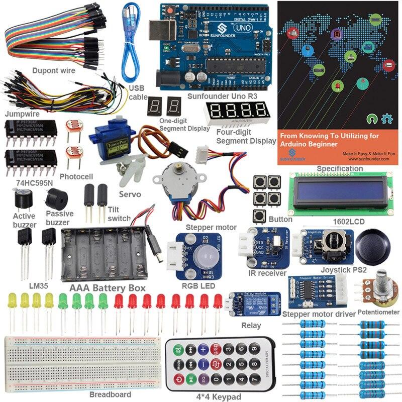 SunFounder Starter Kit Für Arduino Anfänger Vom Wissen Verwendung Mit UNO R3 Modul Für Arduino UNO