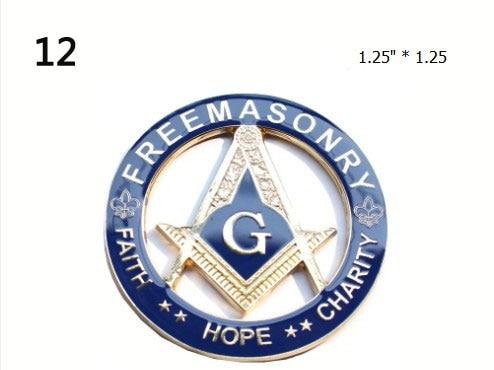 Akasya Akasha Masonik Yaka Pin Mason tapınak Sapı Doğu Yıldızı - Ev Dekoru - Fotoğraf 5