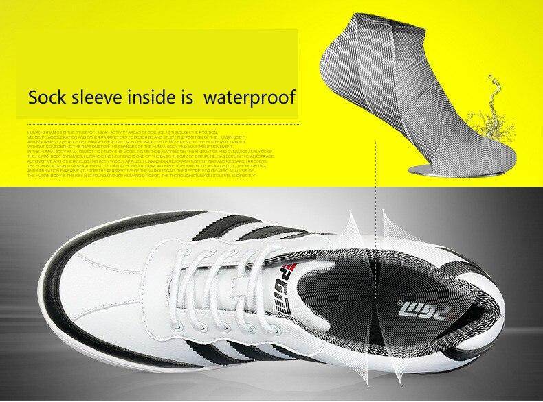 Sapatos À Prova D' Água Esportes Respirável