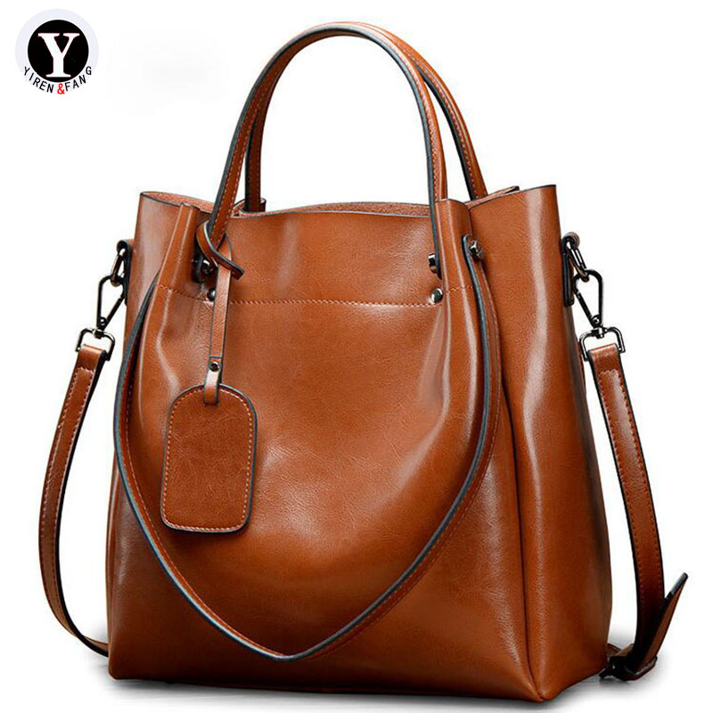 Yirenfang Genuine Leather Bags For Women Messenger Bags Handbags Women Famous Brands 2018 Fashion Luxury Shoulder Bags For Women yirenfang crocodile pattern women messenger bags handbags women famous brands leather luxury shoulder bags for women designer