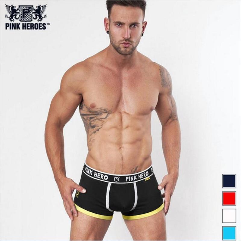4 Pieces Cotton Color Together Mens Brand Boutique Plus Size Underwear Manufacturers Boxer Best Sellingseamless Panties Boxers