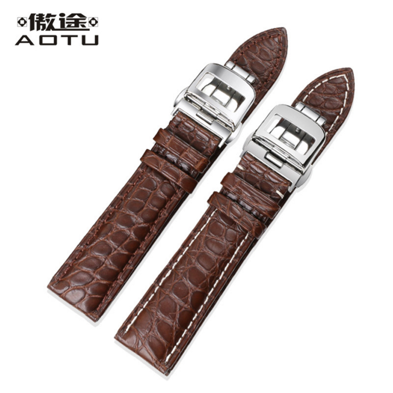 Genuine Leather Watchbands For Jaeger LeCoultre Men Watch Bracelet Belt 20MM 21MM 22MM Male Clock Watch Straps Watch Band Belt maikes 18mm 20mm 22mm watch belt accessories watchbands black genuine leather band watch strap watches bracelet for longines