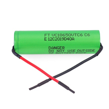 2019 VariCore VTC6 3.7V 3000mAh 18650 Li-ion Battery 20A Discharge VC18650VTC6 Tools e-cigarette batteries+DIY Line