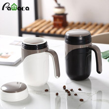 Keramik Cangkir Termos Vacuum Flask Piala Tahan Bocor Terisolasi Botol Termos Mug Rumah Kantor Teh Cup Coffee Mug With Handle 380 ml(China)