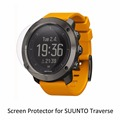 3* Clear LCD PET Shield Film Anti-Scratch Screen Protector Cover for Suunto Traverse Accessories
