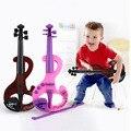 Mini Electric Violin Infancia Temprana Música ABS Instrumento Juguete Violines 2 Colores Para Niños Juguetes de Simulación TC0010