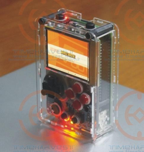 US $218 0 |Pocket mini arcade game 2 inch HD IPS LCD Raspberry Pi 3 + 32G  card Recalbox system it need booking and available in 20 days-in Coin