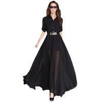 ZYFPGS Bohemian Maxi Summer Dress Long Dress Casual Long Sleeve Chiffion Dresses Vintage Long Dresses NL0128