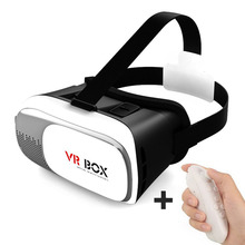 3D VR Box Blu-ray Eye Protection Headset Glasses Virtual Reality Mobile Phone 3D Movies for iPhone 6s/ 6 plus Samsung CX @JH