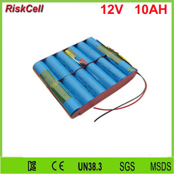 5pcs/lot  rechargeable 26650 4S3P cell 12V 10Ah lifepo4 battery for all-in-one solar street light
