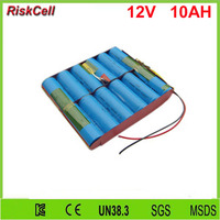 5pcs/lot rechargeable 26650 4S3P cell 12V 10Ah lifepo4 battery for all in one solar street light