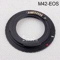 Corpo de Câmera Anel Adaptador M42 Lens para CAN0N III Eletrônico Para 100d 450d 500d 550d 600d 1000d 1100d 1200d 5D Mark II
