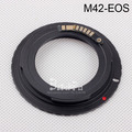 M42 Lens to CAN0N Camera Body Adapter Ring III Electronic For 100d 1000d 1100d 1200d 450d 500d 550d 600d 5D Mark II