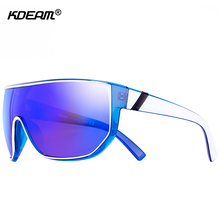 KDEAM Happy Oversized Men Sunglasses With Designer Box Fashi
