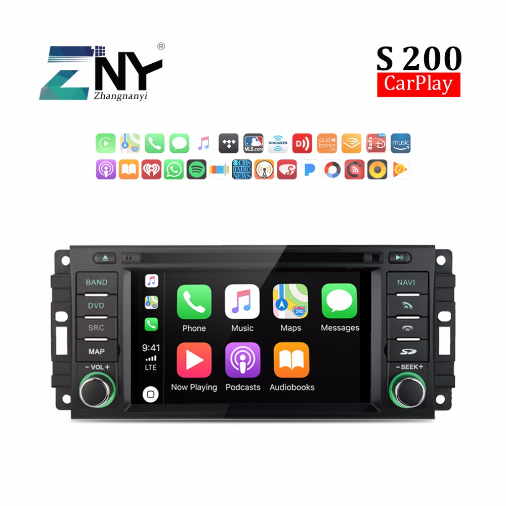 Android 8.0 Universal Auto Radio For Chrysler Dodge Jeep Car Stereo RDS FM Audio Video GPS Navigation Headunit Carplay