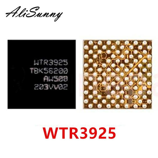 AliSunny 10 pièces WTR3925 fréquence intermédiaire si Ic pour iPhone 6S 7 Plus 7 P émetteur récepteur RF XCVRO_RF U_WTR_RF