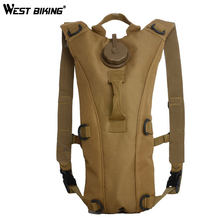 WEST BIKING 2.5L Camelback Water Bag Sport Hydration Cycling Backpack Hydration Bladder Camping Cycling Water Bag Water Carrier