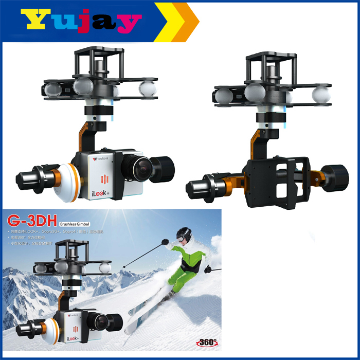 Walkera RC G-3DH Professional Metal Brushless Gimbal For iLook Plus Gopro Camera Drone Helicopter X350 Pro блюдо chinbull рона 30 5 х 22 5 см