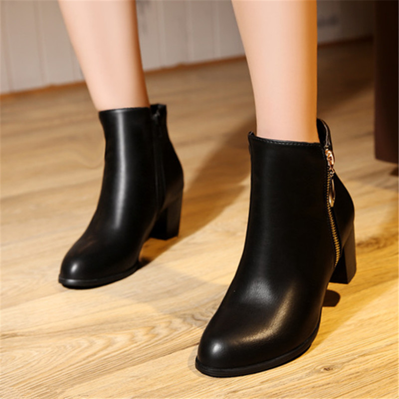 Plus Size 34-45 New შემოდგომა ზამთარი - ქალის ფეხსაცმელი - ფოტო 6