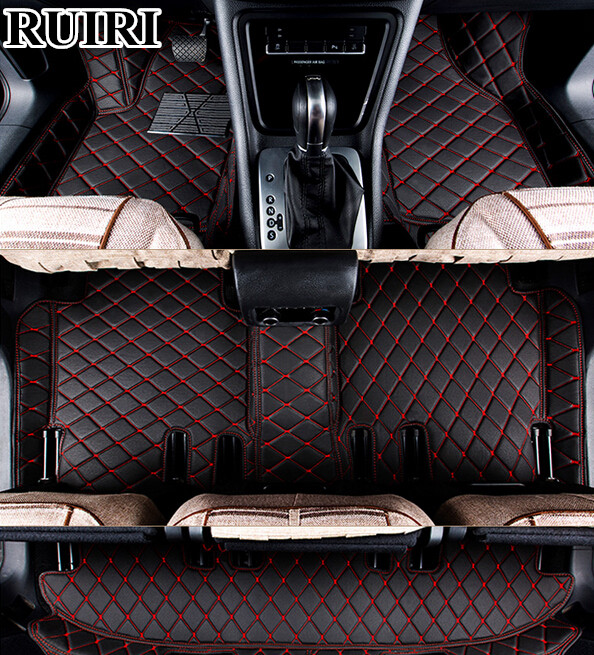 Top quality mats! Custom special car floor mats for Land Rover Discovery 3 2009 2004 7 seats waterproof carpets,Free shipping