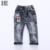 ELE Olá Desfrutar de Jeans Crianças Denim Calças Jeans Crianças Meninos Rasgado bebê Infantis Meninos Marca Slim Fit Calças Casual Jean Crianças Calças