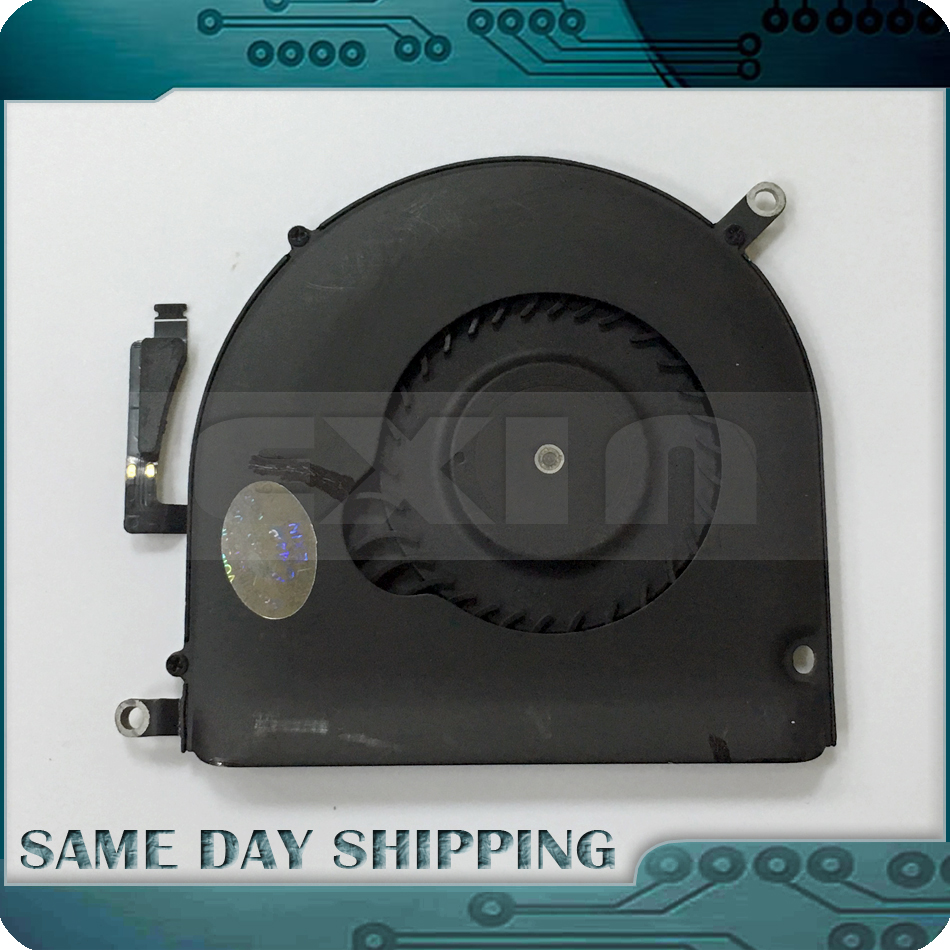 Laptop A1398 Right Side CPU Cooler Cooling Fan for MacBook Pro Retina 15 A1398 Mid 2012 Early 2013 Year 923-0091 i o board usb sd card reader board 820 3071 a 661 6535 for macbook pro retina 15 a1398 emc 2673 mid 2012 early 2013