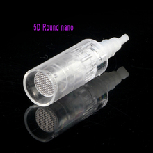 100pieces 3D/5D nano cartridges for dr pen MYM N2 M7 M5, anti aging micro needles replaced cartridge for meso derma pen