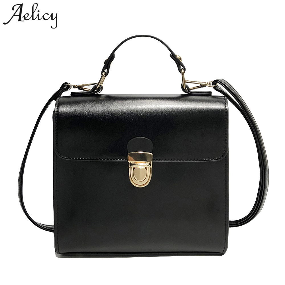 Aelicy Vintage Brand Fashion Female Shoulder Bag 2018 New Design Woman Designer Bags Luxury High Quality Crossbody Bags For Wome
