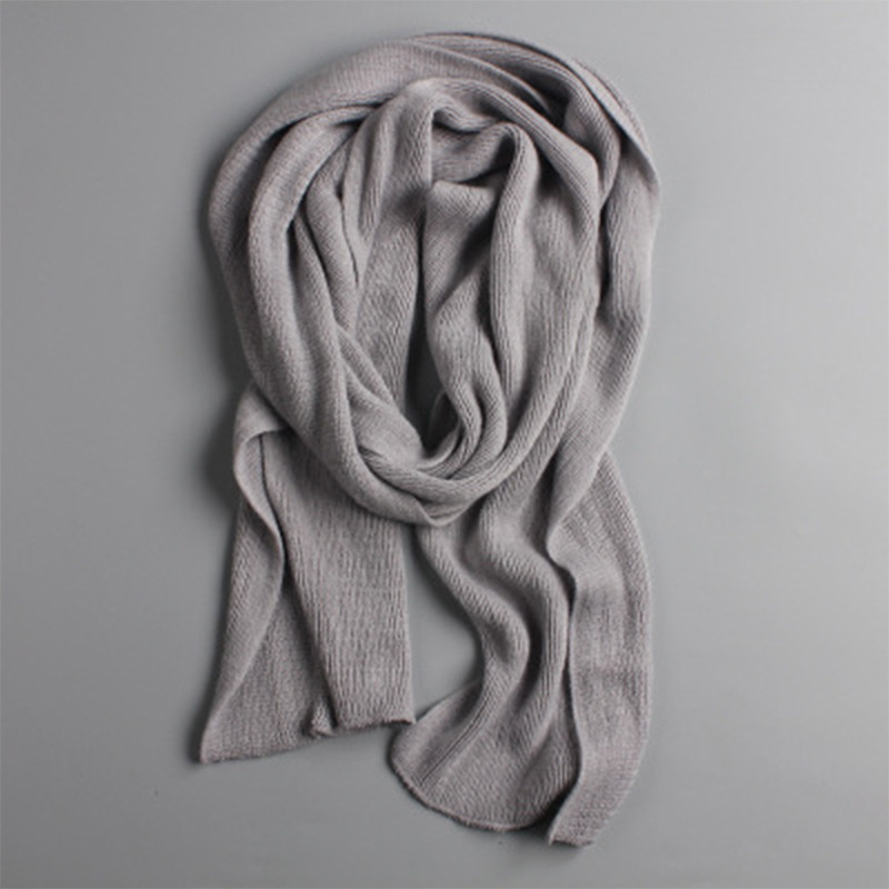 Peacesky men knit spring winter scarves long male women's