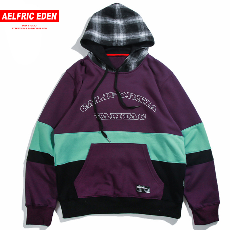 Aelfric Eden Autumn 2018 Men Street Wear Hoodies Sweatshirts