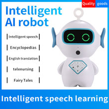 Timethinker Kids Smart Early Education AI Robot WiFi Control TF Companion Learning Robot Voice Recognize Imitation Story Teller(China)